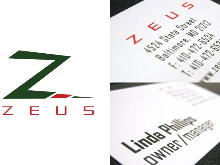 Zeus Athletics Branding